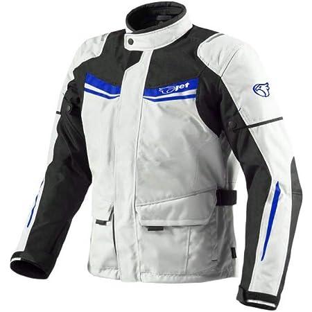 Jet Motorradjacke Herren Mit Protektoren Textil Wasserdicht Winddicht Aquatex Xs Eu 44 46 Weiß Blau Auto