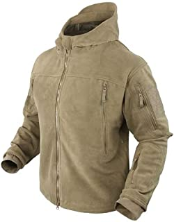 Seirra Hooded Fleece Jacket - Small - Tan