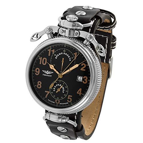 POLJOT Uhr 3133 Chronograph Stoppuhr A4C BR Bordinstrument russische Borduhr B-Uhr