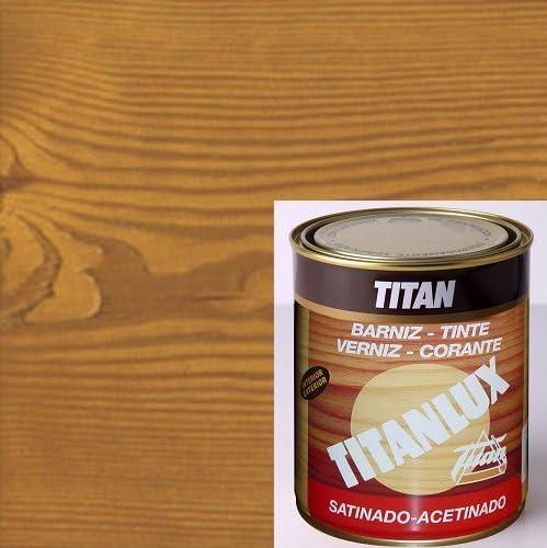 TITANLUX - Barniz Tinte Sint Sat Roble Titanlux 750 Ml ...