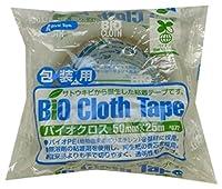 リンレイ 包装用PEテープ #672 バイオクロス (半透明)サイズ50X25m 【まとめ買い30巻セット】
