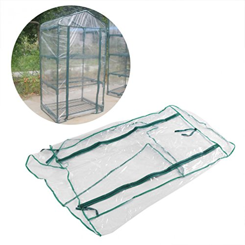 29.37 19.69 59.06 Inches 100 50 150 cm Garden Greenhouse Tomato Greenhouse PVC Plant Cover Without Bracket