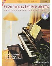 Curso Todo en Uno para Adultos: Nivel 1 con CD: Lecciones * Teoria * Tecnica (Spanish Language Edition), Book & CD (Didattica musicali)