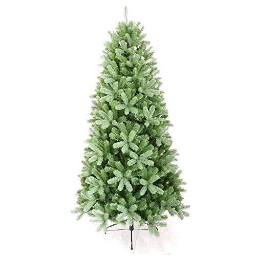 Scaramuzza Modo Albero di Natale Artificiale Slim Canada cm.180 Silicone Misto PVC