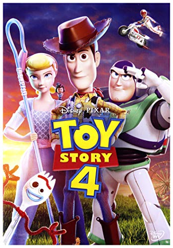 Toy Story 4 [DVD] (English audio. English subtitles)