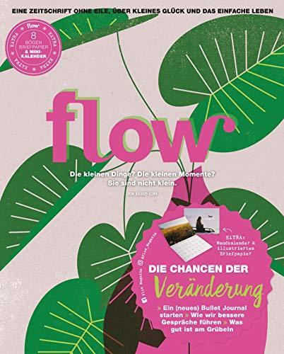 Flow Nummer 55 (1/2021): Eine Zeitschrift ohne Eile, über kleines Glück und das einfache Leben
