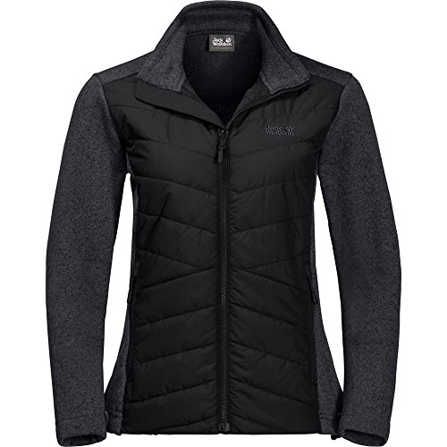 Jack Wolfskin Womens/Ladies Caribou Crossing Track Fleece Jacket Coat