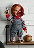 Mezco Child'S Play 3: Chucky Talking Doll Pizza Face Version Standard...