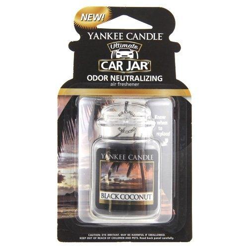 Yankee Candle 1295841E Deodoranti per Auto, Car Vaso Ultimate, Black Coconut