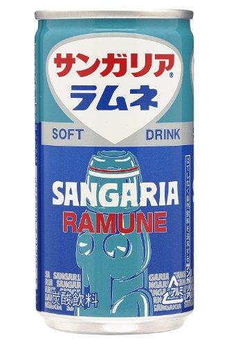 ラムネ 190g×30本 缶