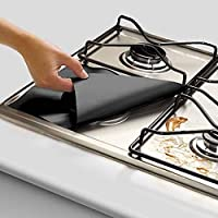 Practical Gas Hob Oil Protection Liner Reusable Stove Clean Mat Pad Furnace Surface Protection Pads Home Use