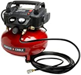 Porter-Cable C2002-WKR Oil-Free UMC Pancake Compressor with 13-Piece...