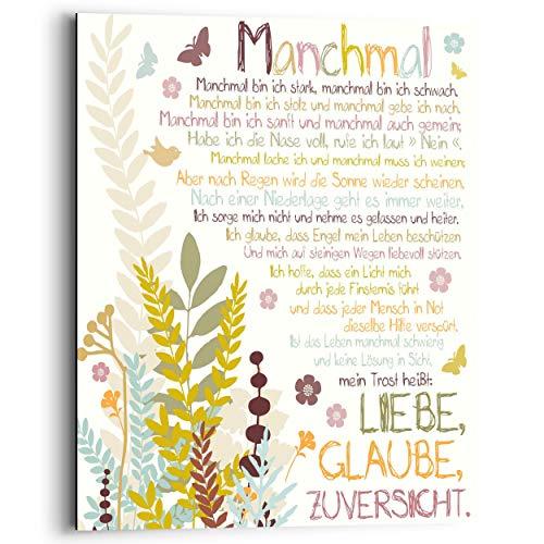REINDERS Manchmal - Wandbild 40 x 50 cm