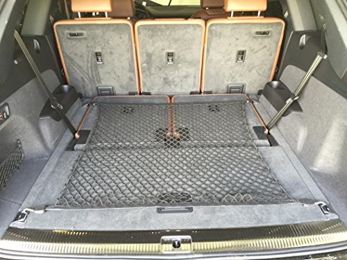 TrunkNets Inc Floor Style Trunk Cargo Net For AUDI Q7 2017-2020 NEW