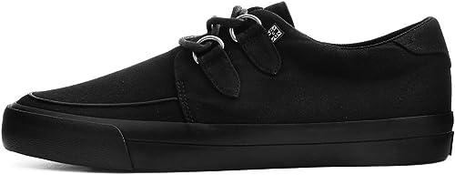 T.U.K. paniers paniers De, Femmes chaussures Hommes Noires VLK Base D-Ring Creeper EU40   UKW7  grosses soldes