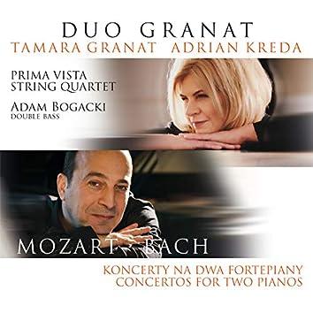 Mozart, Bach: Koncerty na Dwa Fortepiany