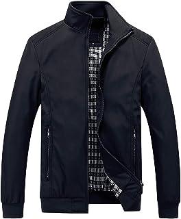 Mens Summer Bomber Jackets Casual Lightweight Windbreaker Sports Jacket Cargo Outwear