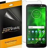 (6 Pack) Supershieldz for Motorola Moto G6 Screen Protector, High Definition Clear Shield (PET)