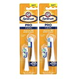 Spinbrush Pro Series Daily Clean Battery Toothbrush Refills, Soft, 4 Count