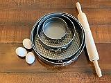 ELITE Cake Pans Set, Springform Non-Stick Coating Steel Bakeware Cake...