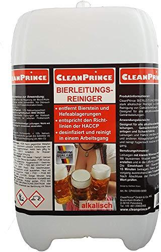 5 Liter BIERLEITUNGSREINIGER KANISTER ALKALISCH Bierleitungen Reiniger Getränkeleitungen desinfizierend Desinfektion, Ablagerungen werden entfernt, alkalisch chlorhaltig, flüssig, Flüssigreiniger, Hygienevorschriften, entfernt Bierstein und Hefen, desinfiziert und reinigt in einem Arbeitsgang, entspricht den Richtlinien der HACCP, Zapfanlage, Zapfhahn, Getränkeleitungsreiniger, Trinkleitungsreiniger, Bierreiniger, ideale Alternative zu Schwammkugeln / Schwammgummikugeln