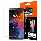 Spigen [Uso rápido] LG G6 Protector de Pantalla, [Huellas] Templado Vidrio Protector de pantella Adecuado Cristal Templado LG G6 (A21GL21587)