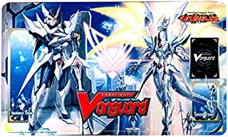 LIMITED EDITION Blaster Blade Seeker & Thing Saver Dragons PLAYMAT - Cardfight Vanguard English Legion of Blades BT16 from Booster Case