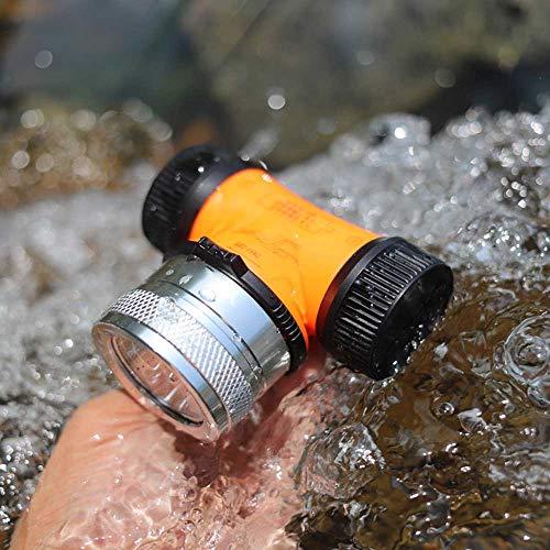 WESLITE Linterna Frontal de Buceo, 1800 Lúmenes Linternas Frontales de Buceo con LED XM-L2 Impermeable Linterna de Cabeza de Buceo Subacuático para Buceo, Caza, Pesca (Luz Blanca y Amarilla)