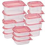 Rosenstein & Söhne Gefrierdosen: 30-teiliges Frischhaltedosen-Set BASIC, BPA-frei (15 Dosen) (Gefrierdosen Set)