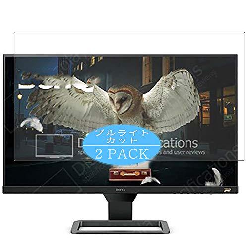 VacFun 2 Piezas Filtro Luz Azul Protector de Pantalla Compatible con BenQ EW2480 24' Display Monitor, Screen Protector...