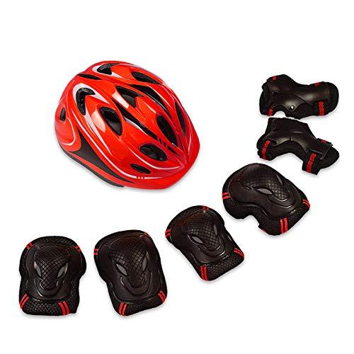 BCBIG - Juego de equipo de protección para bicicleta infantil (casco, rodilleras...