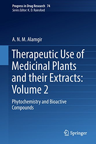 Therapeutic Use of Medicinal Plants and their Extracts: Volume 2: Phytochemistry and Bioactive Compounds (Progress in Drug Research Book 74) (English Edition)