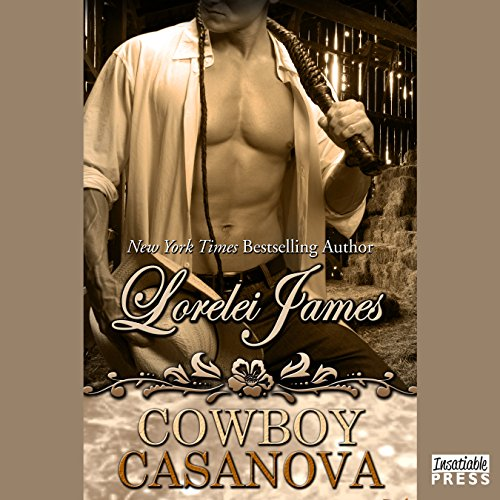 Cowboy Casanova audiobook cover art