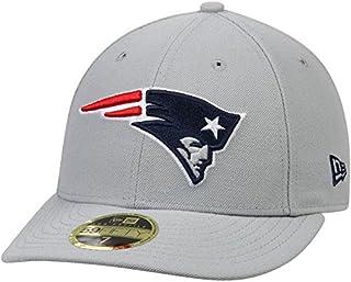 New Era New Era New England Patriots Gray Omaha Low Profile 59FIFTY Structured Hat スポーツ用品 【並行輸入品】