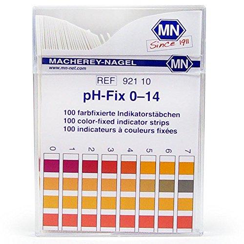 Camlab 1138921 - Confezione da 100 indicatori pH - 14, 6 x 85 mm