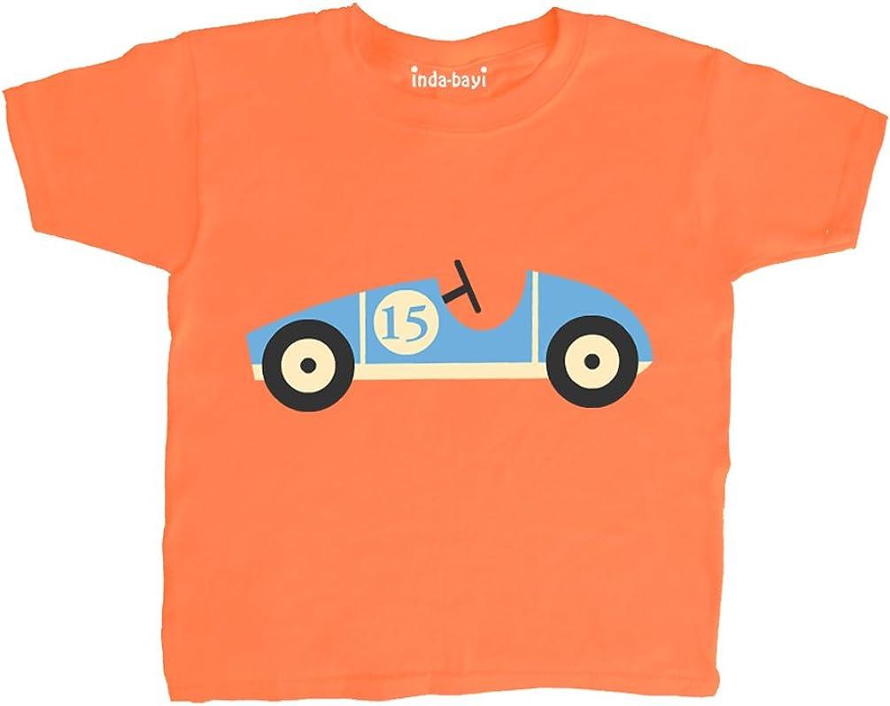 Racing car Inda-Bayi Baby-Toddler-Kids Cotton T Shirt