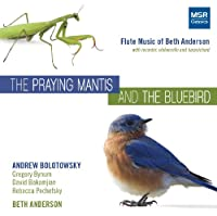 Praying Mantis & the Bluebird