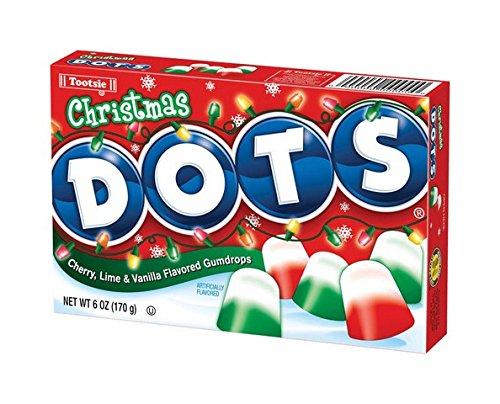 Tootsie Roll Industries Llc Christmas Dots Candy6oz Estuche de 12, Tootsie Roll Industries LLC