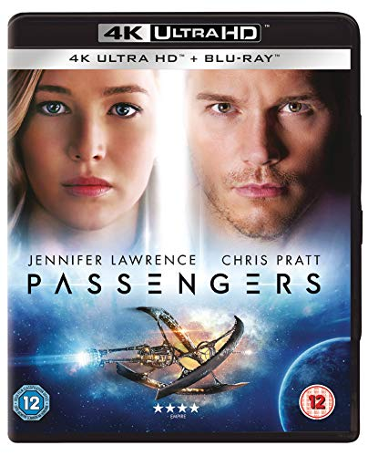 Passengers [4K Ultra HD] [Blu-ray] [2016] [Region Free]