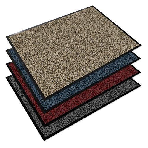Floordirekt EVEREST Schmutzfangmatte Sky - Testsieger - Fußmatte in vielen Farben und Größen - Ocker-schwarz, 200x200 cm