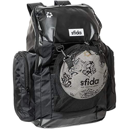 sfida(スフィーダ) BIGバックパック サッカーリュック ボール収納 リュックサック デイパック サッカー フットサル スポーツ OSF-BA37 BLCK ブラック