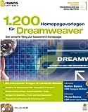 1200 Homepage Vorlagen für Dreamweaver -