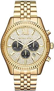 Michael Kors Lexington reloj MK8494 en color dorado para hombre