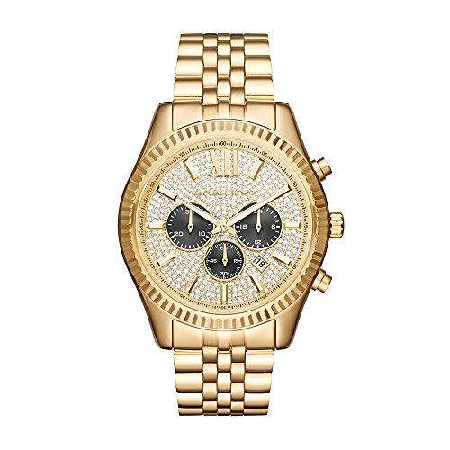 Michael Kors Reloj cronógrafo de Cuarzo para Hombre