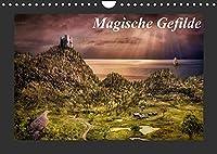 Magische Gefilde (Wandkalender 2022 DIN A4 quer): Fantasy - Landschaften, die Sie verzaubern werden (Monatskalender, 14 Seiten )