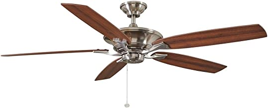 Hampton Bay Ashburton 60 in. Indoor Brushed Nickel Ceiling Fan