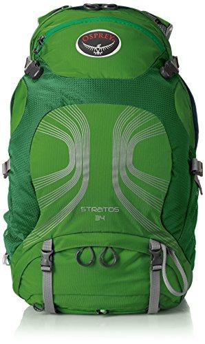Osprey Packs Stratos 34 Backpack (2016 Model), Pine Green, Small/Medium
