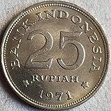 SHFGHJNM Colección de Monedas Indonesia 1971 Coin Conmemorativa Coin 1711