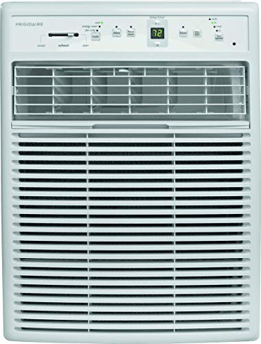 Frigidarie FFRS0822S1 Heavy-Duty Window Air Conditioner for Slider or Casement windows - 8,000 BTU (Renewed)