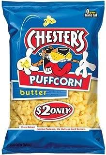 Chester's Puffcorn Butter Puffed Corn Snacks, 3.5 Oz (1 bag)